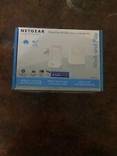 NETGEAR POWERLINE AV 200 Nano Adapter Kit XAVB2101 **BRAND NEW SEALED BOX**