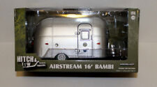 Greenlight Airstream 16' Bambi Camper Trailer CHASE GREEN MACHINE 1:24