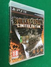 PS3 - BULLETSTORM Limited + Manuale , Game Playstation PAL ITA - NUOVO !!! NEW