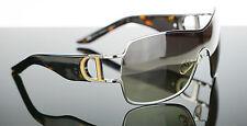 RARE NEW Genuine Christian Dior DIORPrecoll1 Ruthenium Shield Sunglasses KASMH