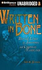 Written in Bone Audio Book