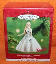 Hallmark Keepsake Celebration Barbie Ornament 2001