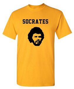 Socrates Brazil 70s Football World Cup Mens T-Shirt