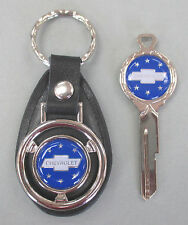 CHEVY TRUCK Blue Deluxe Classic White Gold Key Set 1936 1937 1938 1939 1940 1941