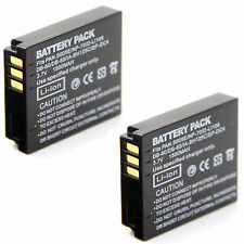 2x 3.7v 1500mAh Battery For DB-60 DB-65 Ricoh G600 G700 G700SE Digital Camera