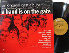 A Hand Is on the Gate (Soundtrack) (Verve Folkways) 2 LPs (Leon Bibb,Moses Gunn)