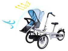 "Pushchair Mother single Seat 16""Wheel Folding Bicycle Baby Stroller Bike Carrier"