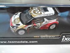 CITROEN DS3 WRC Abu Dhabi W.R.Team 2013 - 1/43 IXO VOITURE DIECAST-RAM519