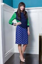 MARNI FOR H&M STUNNING BLUE POLKA DOT PENCIL SKIRT! CLASSY YET MODERN! MUST HAVE