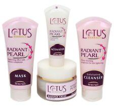 Lotus Herbal Radiant Pearl Cellular Glow Facial Kit (Set of 4) - 170 Gram