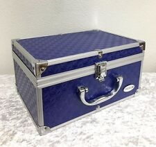Blue Carrying Case Jewelry Make Up Make-Up Hookah SALE