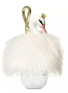 BATH & BODY WORKS White Swan Princess POCKET *BAC Hand Gel Holder NWT BBW New