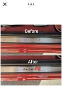 Honda Civic Fn2  Type R Door Sill Graphics Set  (WORD) X2 New 2021 Limited