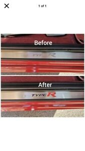 Honda Civic Fn2  Type R Door Sill Graphics Set  (WORD) X2