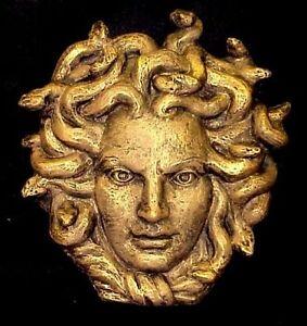 Medusa Greek Roman Goddess Wall Sculpture Home Decor