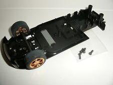 Scalextric - W9124 Nissan 350Z Drift Underpan / Front Axle (Gold Wheels) - NEW