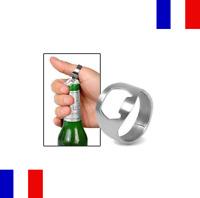 Lot 2X Bague décapsuleur Ouvre bouteille Bière Alcool Bar Bistrot 20mm Inox
