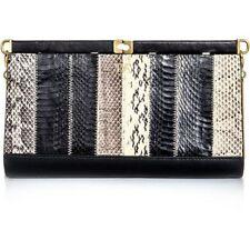 DVF Diane von Furstenberg Olivia snake embossed clutch ONLY ONE ON EBAY $495 NWT