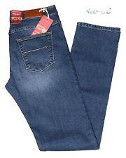 Jeans uomo 46 48 50 52 54 56 58 60 HOLIDAY elasticizzato blu sabbiato SILENTINA