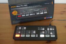 Blackmagic Atem Mini Pro ISO Videomischer - Schwarz