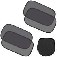HelpAccess 4er Set Autofenster-Sonnenschutz - UV-Strahlen Schutz, Größe: 50 x 30