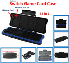 Nintendo Switch GAME CARD Case (32 in 1) 16 Game Card & 16 Micro SD Card Holder