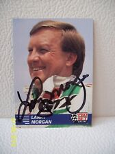 Larry Morgan AUTOGRAPHED 1991 PRO SET Racing NHRA Pro Stock CARD * Signed *