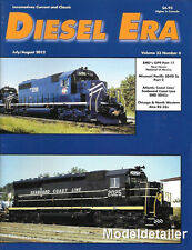 Diesel Era V23 N4 EMD GP9 Missouri Pacific SD40-2 Seaboard Coast Line SD45 RS-32