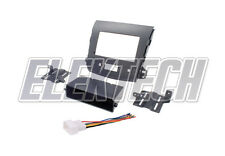 Radio Replacement Dash Mount Kit 2-DIN w/Harness for Mitsubishi Outlander