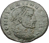 Constantine I The Great 312AD Ancient Roman Coin Jupiter Zeus w globe  i32172