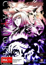 Claymore : Vol 6 (DVD, 2009) New Region 4