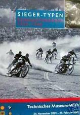 BMW motorcycle/Wien exhibit Poster/Classic race print motorrad