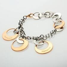 New Rebecca Two-Tone Disc Bracelet