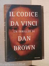 IL CODICE DA VINCI Dan Brown Riccardo Valla Mondadori Omnibus 2006 libro storia