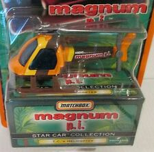 MAGNUM P.I. - T.C.'s HELICOPTER - 1998 Matchbox Star Car Series ~ SOFT CORNER