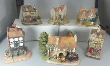Lilliput Lane Coach & Horses, Book Shop ,George Inn ,High Spirits Lot Of 6.