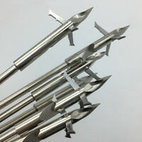 Stainless Steel Hunting Shooting Fish Arrowhead Slingshot Catapult Dart Hot #ur