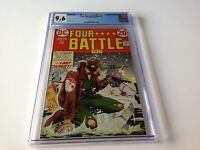 FOUR STAR BATTLE TALES 2 CGC 9.6 WHITE PAGES KUBERT NAVAJO ACE DC COMICS