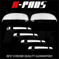 FOR CHEVY SUBURBAN/TAHOE/AVALANCHE 07-13 CHROME MIRROR & DOOR HANDLE COVER