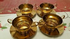 dirigold cream soup bowl holder/saucer/liner