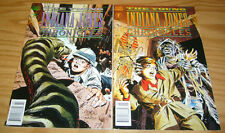 Young Indiana Jones Chronicles v2 #1-2 VF/NM complete series dark horse comics