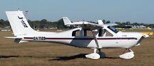 Jabiru J230 Amateur Built and Light Sports Aircraft Mahogany Wood Model Big New
