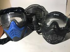 Vforce & Brass Eagle Paintball Mask Lot Of 3 Used