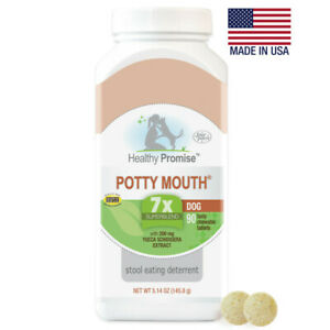 Four Paws Healthy Promise Potty Mouth Dog Tablet 90ct   Free Shipping