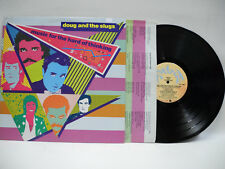 Doug & The Slugs- Music for The Hard of Thinking-Vinyl LP -1982 Canada Release