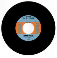 """LENNY CURTIS Nothing Can Help You Now - Northern Soul 45 (Soul Tribe) 7"""" *listen"""