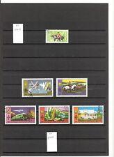 N°591-A,B,C,D,E- Mongolie ( Poste Aérienne )(1961-77 )- 54 timbres oblitérés