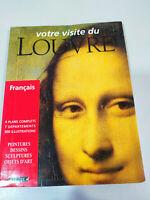 Musee du Louvre Votre Visite 1998 Libro Tapa Blanda 191 pags Francais