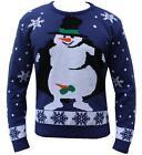 Novedad Suéter De Punto Navidad Jersey Grosero Gracioso Hombre Mujer