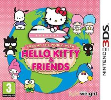 Around the world with Hello Kitty & Friends nintendo 3DS   NUOVO!